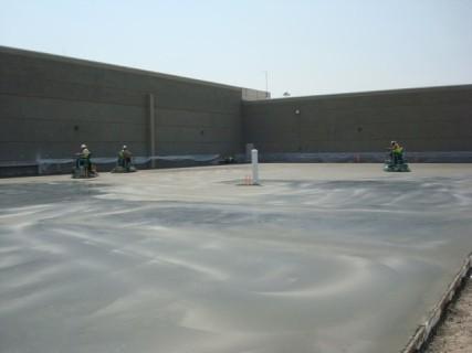 Concrete Finishing at USPS - Denver, CO