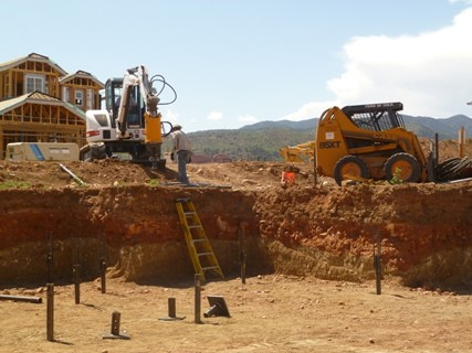 Installing Helical Piers in Colorado