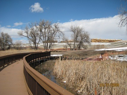 Aurora, CO - Boardwalk in Protected Area