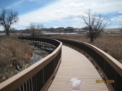 Aurora Parks & Open Space Boardwalk - CO