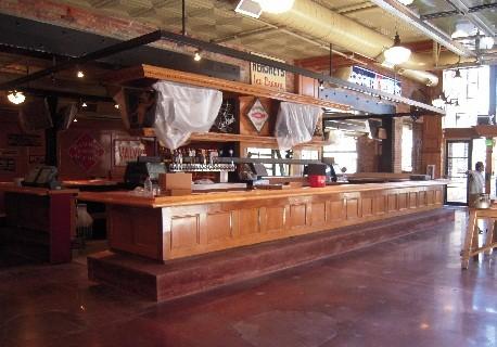 Finished custom bar