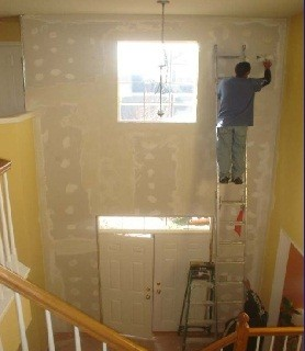 Cosmetic repair - drywall and painting
