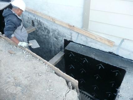 Waterproofing of Sisterwall Counterfort